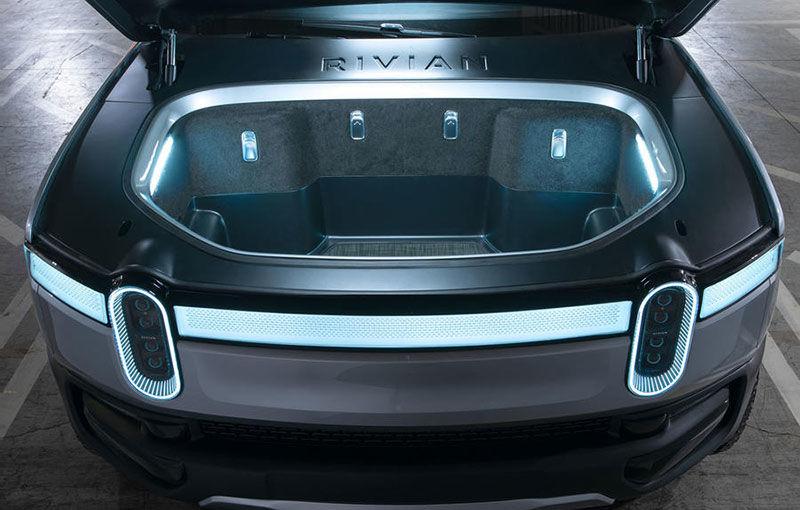 Rivian, un start-up din SUA, lansează un pick-up electric: din 2021, modelul cu autonomie de peste 640 de kilometri va fi disponibil și în Europa - Poza 8