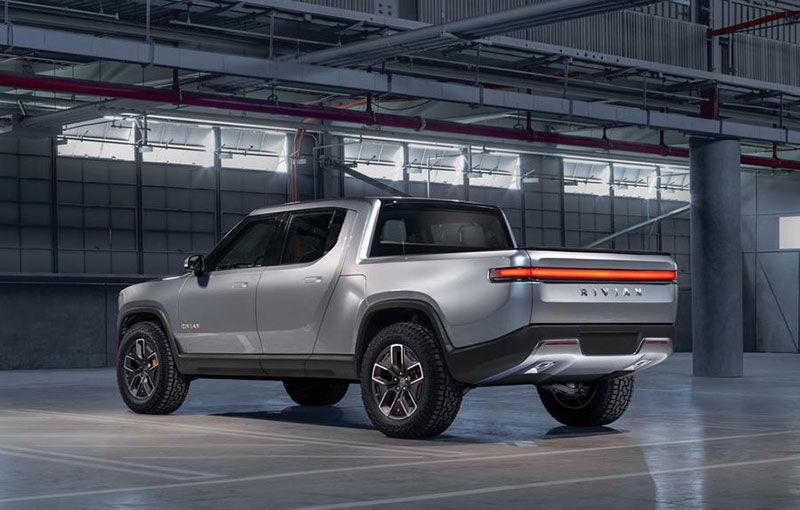 Rivian, un start-up din SUA, lansează un pick-up electric: din 2021, modelul cu autonomie de peste 640 de kilometri va fi disponibil și în Europa - Poza 4