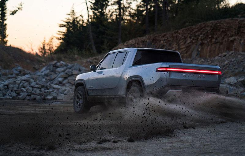 Rivian, un start-up din SUA, lansează un pick-up electric: din 2021, modelul cu autonomie de peste 640 de kilometri va fi disponibil și în Europa - Poza 2