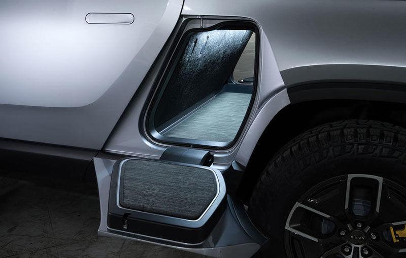 Rivian, un start-up din SUA, lansează un pick-up electric: din 2021, modelul cu autonomie de peste 640 de kilometri va fi disponibil și în Europa - Poza 7