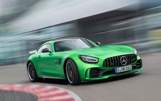 Mercedes-AMG GT primește un facelift ușor și cea mai puternică versiune din istorie: 585 CP pentru AMG GT R Pro