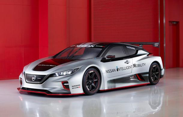 De înaltă tensiune: Nissan Leaf Nismo RC demonstrează potențialul extrem al tehnologiei electrice - Poza 1