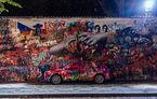 Teasere noi cu viitorul Skoda Scala: hatchback-ul compact face parte dintr-un proiect de artă urbană