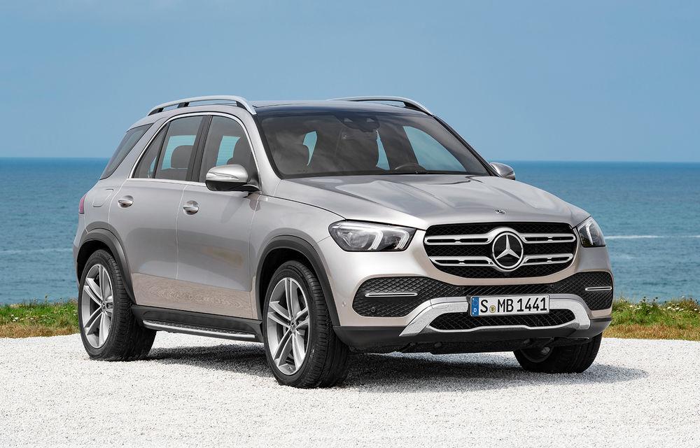 Mercedes-Benz testează viitorul GLE plug-in hybrid pe Nurburgring: producătorul german anunță o autonomie în modul electric de până la 100 de kilometri - Poza 1