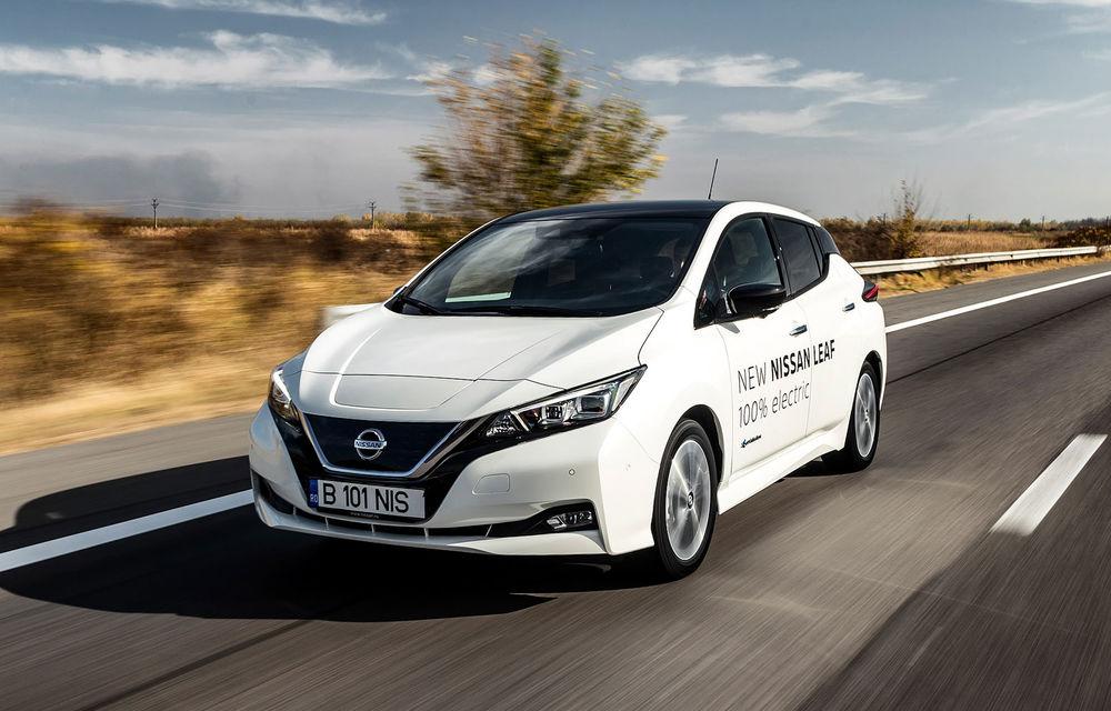 Detalii despre Nissan Leaf E-Plus: versiunea de performanță a electricei va avea baterie de 60 kWh și 200 de cai putere - Poza 1