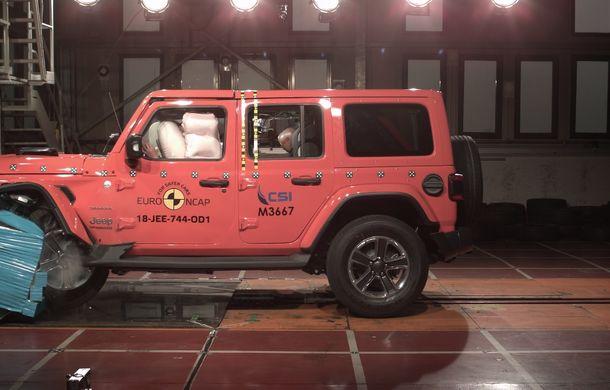 Noi rezultate Euro NCAP: o stea pentru noul Jeep Wrangler, niciuna pentru Fiat Panda. Alte 7 modele au primit calificativ maxim - Poza 26