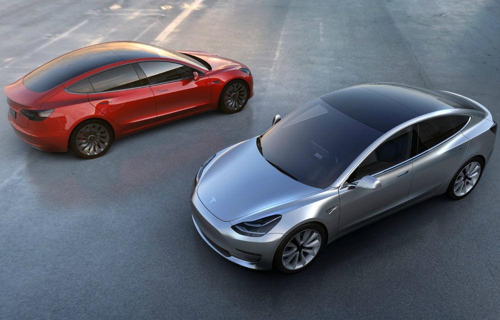 Tesla Model 3 poate fi comandat în principalele țări europene: autonomie de 544 kilometri. Livrările încep în februarie - Poza 1