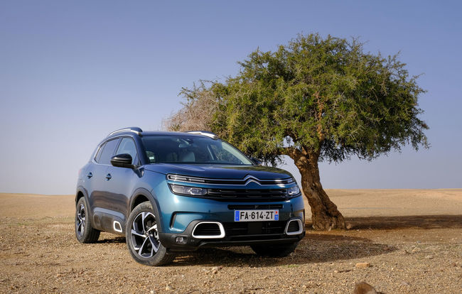 Test drive Citroen C5 Aircross