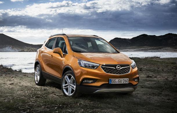 Opel continuă extinderea gamei de modele: SUV-ul Mokka X și utilitara Vivaro vor primi versiuni electrice în 2020 - Poza 1