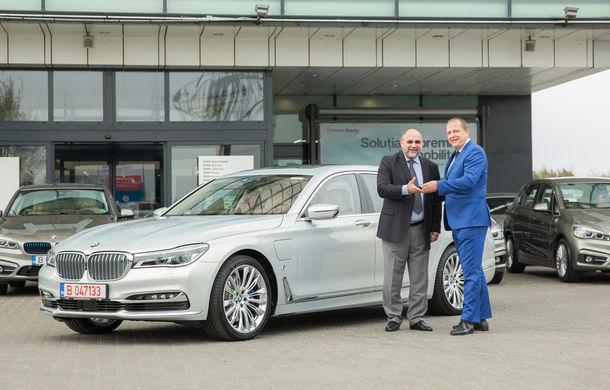 BMW livrează cea mai mare flotă de mașini plug-in hybrid din România: 10 unități cu încărcare la priză pentru grupul de companii Teaha - Poza 4