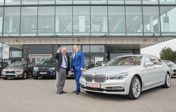 BMW livrează cea mai mare flotă de mașini plug-in hybrid din România: 10 unități cu încărcare la priză pentru grupul de companii Teaha - Poza 2
