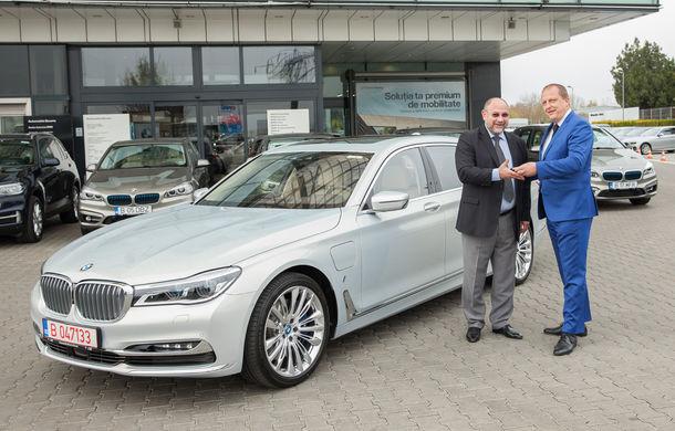 BMW livrează cea mai mare flotă de mașini plug-in hybrid din România: 10 unități cu încărcare la priză pentru grupul de companii Teaha - Poza 3