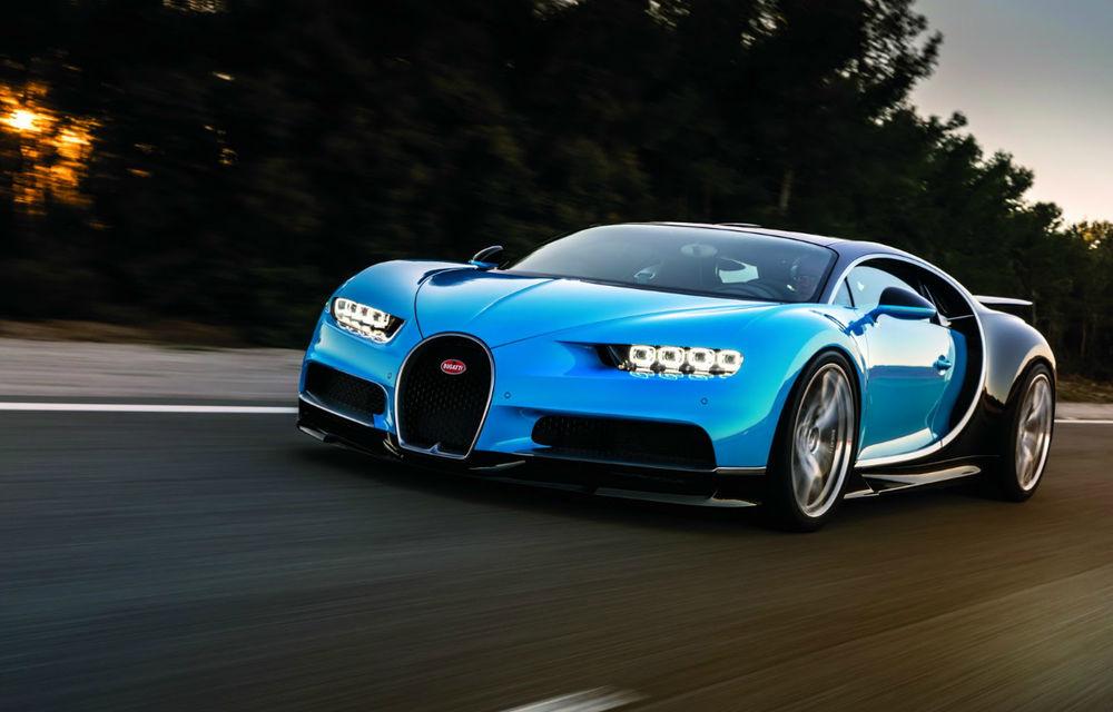 Fără record de viteză pentru Bugatti Chiron: oficialii din Molsheim spun că performanța se poate măsura și în alte moduri - Poza 1