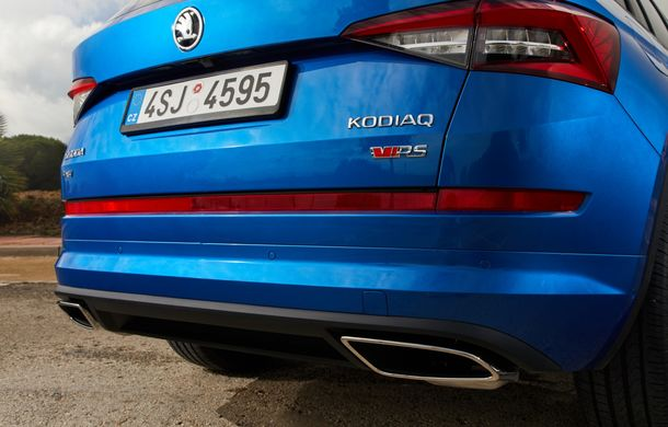 SUV-ul de performanță Skoda Kodiaq RS are prețuri pentru România: start de la 43.700 de euro - Poza 50