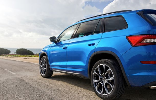 SUV-ul de performanță Skoda Kodiaq RS are prețuri pentru România: start de la 43.700 de euro - Poza 54