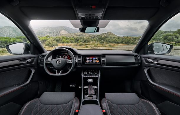 SUV-ul de performanță Skoda Kodiaq RS are prețuri pentru România: start de la 43.700 de euro - Poza 55