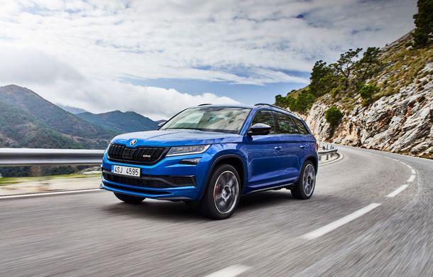 SUV-ul de performanță Skoda Kodiaq RS are prețuri pentru România: start de la 43.700 de euro - Poza 3