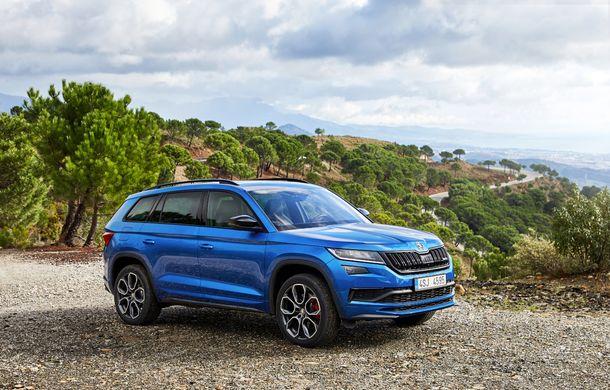 SUV-ul de performanță Skoda Kodiaq RS are prețuri pentru România: start de la 43.700 de euro - Poza 28