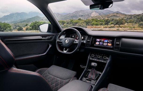 SUV-ul de performanță Skoda Kodiaq RS are prețuri pentru România: start de la 43.700 de euro - Poza 56
