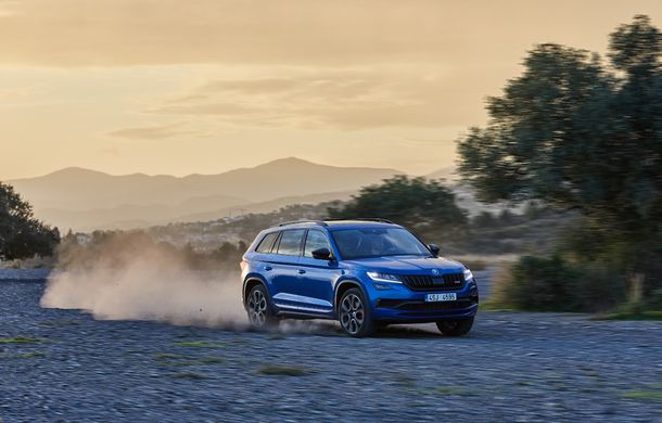 SUV-ul de performanță Skoda Kodiaq RS are prețuri pentru România: start de la 43.700 de euro - Poza 8