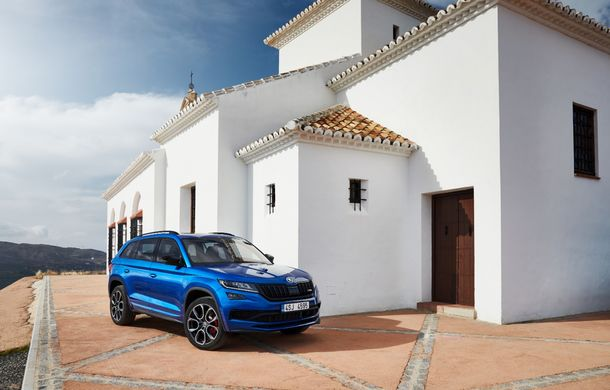 SUV-ul de performanță Skoda Kodiaq RS are prețuri pentru România: start de la 43.700 de euro - Poza 34