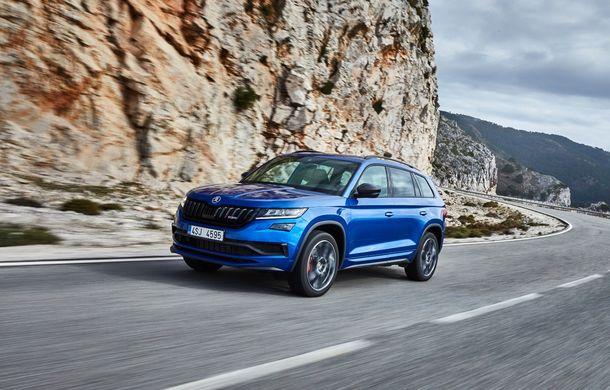 SUV-ul de performanță Skoda Kodiaq RS are prețuri pentru România: start de la 43.700 de euro - Poza 5