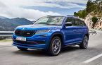 SUV-ul de performanță Skoda Kodiaq RS are prețuri pentru România: start de la 43.700 de euro