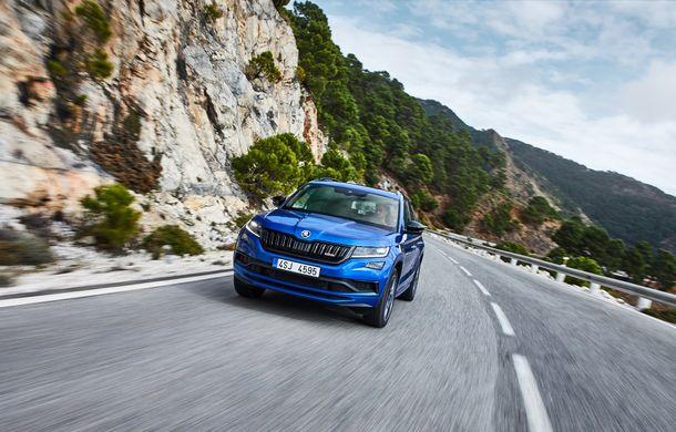 SUV-ul de performanță Skoda Kodiaq RS are prețuri pentru România: start de la 43.700 de euro - Poza 7