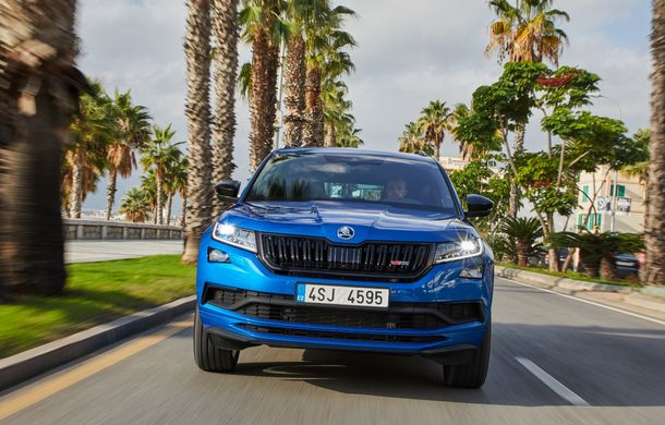 SUV-ul de performanță Skoda Kodiaq RS are prețuri pentru România: start de la 43.700 de euro - Poza 14