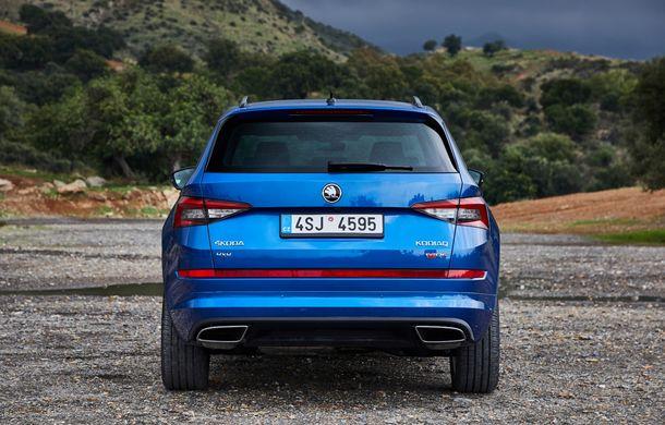SUV-ul de performanță Skoda Kodiaq RS are prețuri pentru România: start de la 43.700 de euro - Poza 20