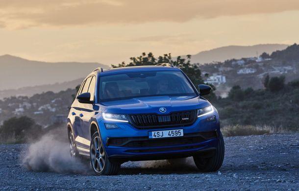 SUV-ul de performanță Skoda Kodiaq RS are prețuri pentru România: start de la 43.700 de euro - Poza 9