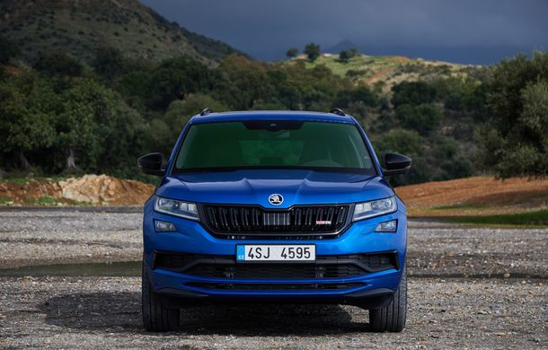 SUV-ul de performanță Skoda Kodiaq RS are prețuri pentru România: start de la 43.700 de euro - Poza 16