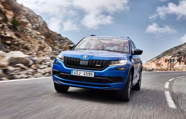 SUV-ul de performanță Skoda Kodiaq RS are prețuri pentru România: start de la 43.700 de euro - Poza 2