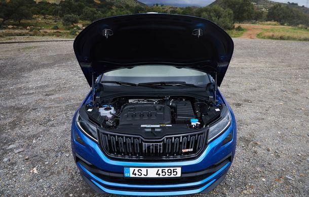 SUV-ul de performanță Skoda Kodiaq RS are prețuri pentru România: start de la 43.700 de euro - Poza 44