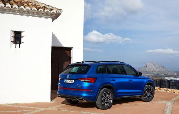 SUV-ul de performanță Skoda Kodiaq RS are prețuri pentru România: start de la 43.700 de euro - Poza 35