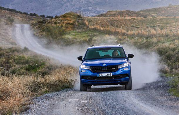 SUV-ul de performanță Skoda Kodiaq RS are prețuri pentru România: start de la 43.700 de euro - Poza 13