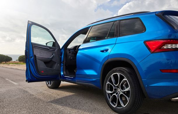 SUV-ul de performanță Skoda Kodiaq RS are prețuri pentru România: start de la 43.700 de euro - Poza 53