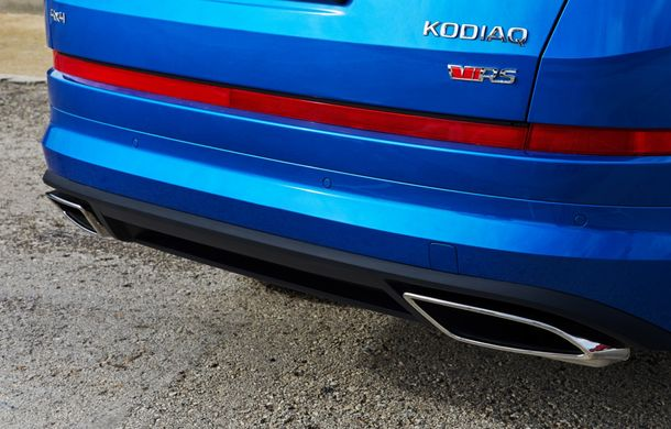 SUV-ul de performanță Skoda Kodiaq RS are prețuri pentru România: start de la 43.700 de euro - Poza 49