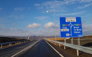 România are încă 13.7 kilometri de autostradă: a fost deschis traficul rutier pe ruta Ungheni - Ogra - Iernut de pe A3