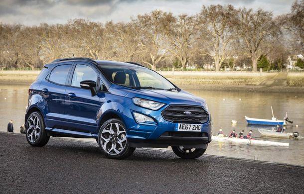 Ford, record de vânzări în Europa pe segmentul SUV-urilor: peste 259.000 de unități în 2018, creștere de 21% față de 2017 - Poza 1