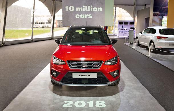 10 milioane de mașini asamblate în cadrul fabricii Seat din Martorell: borna a fost atinsă după 25 de ani de activitate - Poza 1