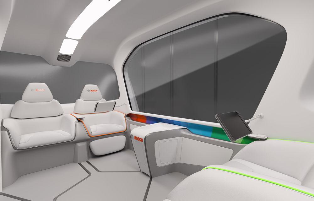 Soluție germană pentru transportul urban: Bosch a dezvoltat conceptul unui shuttle electric și autonom - Poza 8