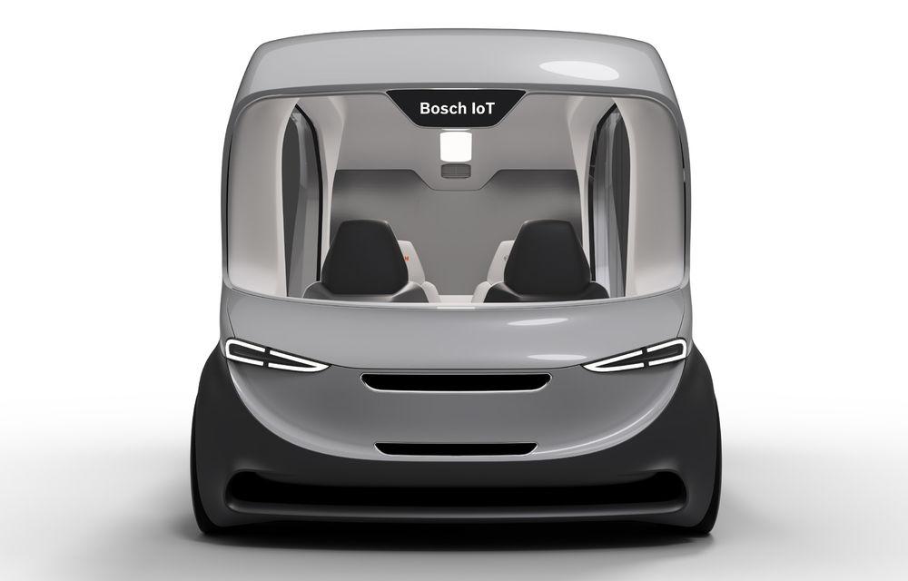 Soluție germană pentru transportul urban: Bosch a dezvoltat conceptul unui shuttle electric și autonom - Poza 3