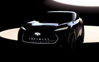 Infiniti pregătește lansarea unui crossover 100% electric: conceptul va fi dezvăluit în ianuarie, la Detroit