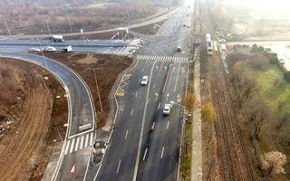Lotul de 6.5 kilometri care unește autostrada A3 de București a fost inaugurat: soluție controversată pentru intrarea pe autostradă
