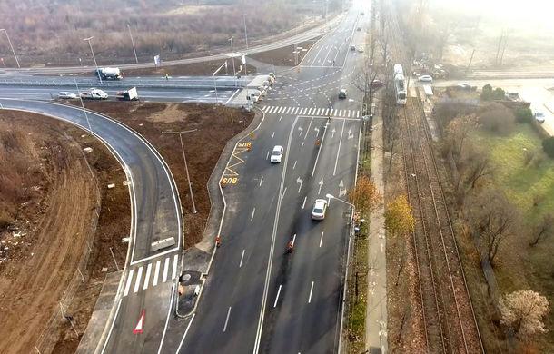 Lotul de 6.5 kilometri care unește autostrada A3 de București a fost inaugurat: soluție controversată pentru intrarea pe autostradă - Poza 1