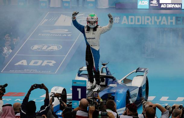"""BMW a câștigat cursa de debut a sezonului în Formula E la prima participare în competiție: """"Este pur și simplu incredibil!"""" - Poza 5"""