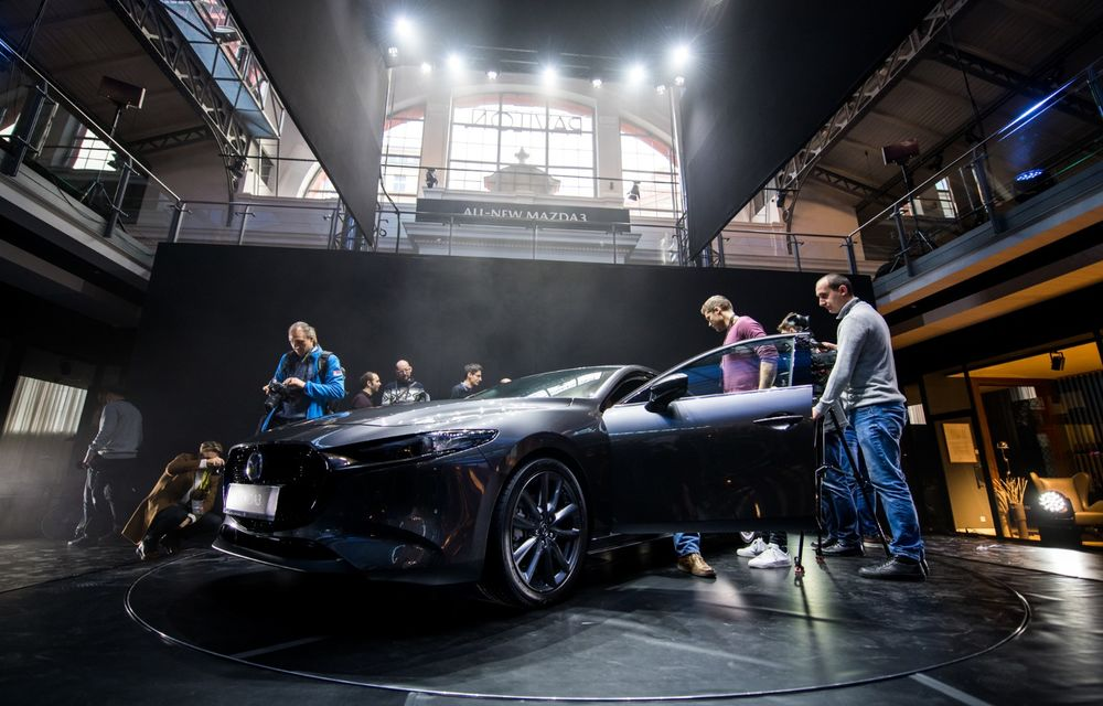 Prim contact cu noua generație Mazda 3: cinci lucruri pe care trebuie să le știi despre modelul nipon de clasă compactă - Poza 8