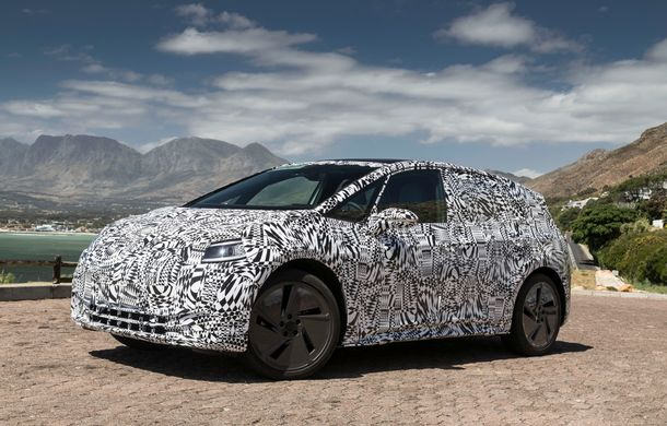 Primele imagini cu versiunea de serie a hatchback-ului Volkswagen ID: prezentarea modelului electric este programată în 2019 - Poza 4