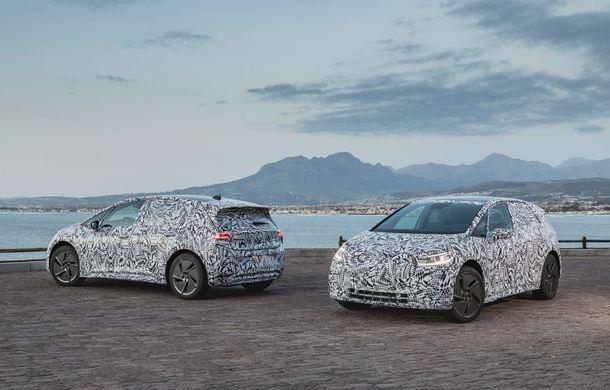 Primele imagini cu versiunea de serie a hatchback-ului Volkswagen ID: prezentarea modelului electric este programată în 2019 - Poza 5